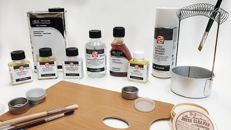 Malemiddel olje